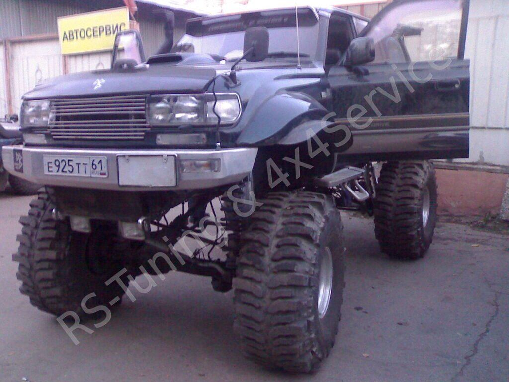 Toyota Land Cruiser 80  Шоу кар!!! 4x4&RST_1