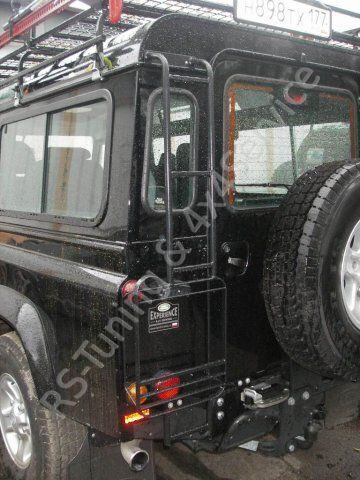 Land Rover Defender 110. KAYMAR, ARB, WARN, IPF, SAFARI RST7