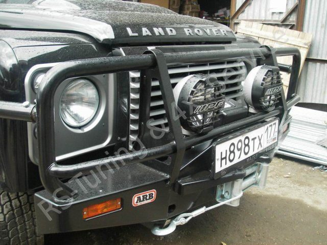 Land Rover Defender 110. KAYMAR, ARB, WARN, IPF, SAFARI RST1