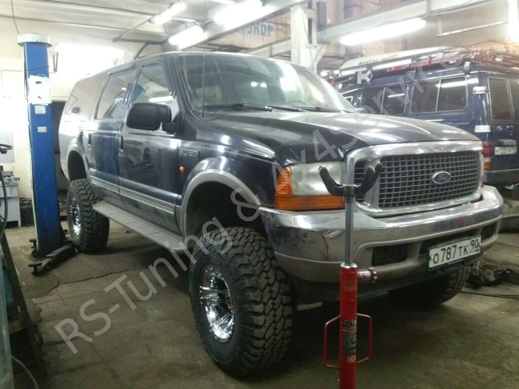 Ford Excursion Lift Kit 6'' Offroad Suspension RST&4x4_11