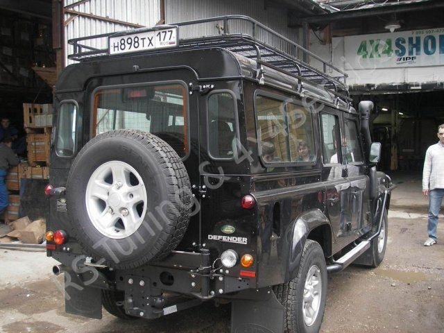 Land Rover Defender 110. KAYMAR, ARB, WARN, IPF, SAFARI RST3